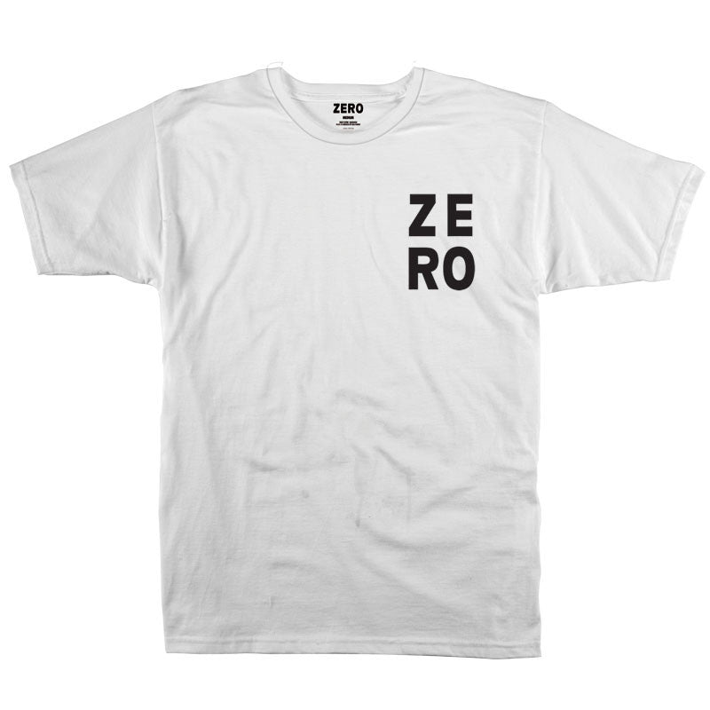 Zero Numero S/S - White/Black - Men's T-Shirt