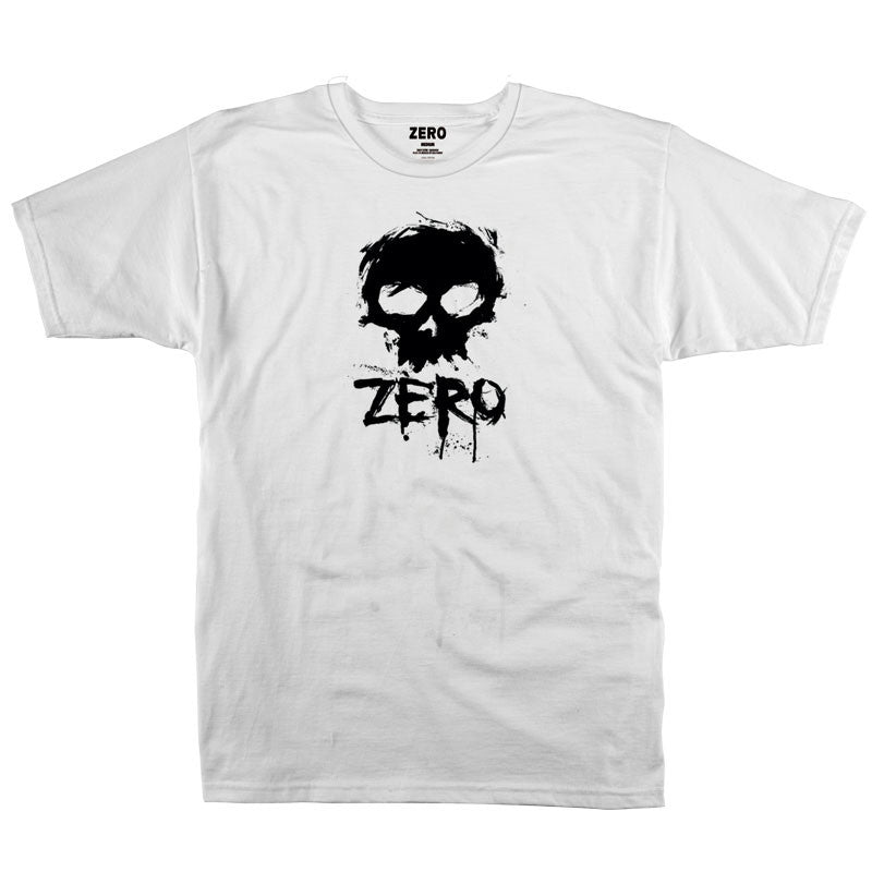 Zero Blood Skull Premium S/S - White - Men's T-Shirt