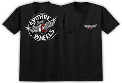 Spitfire Fly Classic S/S Men's T-Shirt - Black/White/Red