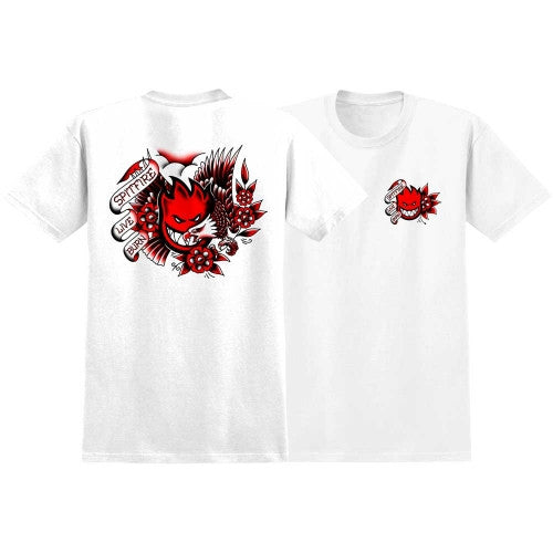 Spitfire OG Flash S/S Men's T-Shirt - White