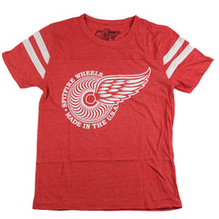 Spitfire Classic Flyer S/S - Red/White - Men's T-Shirt