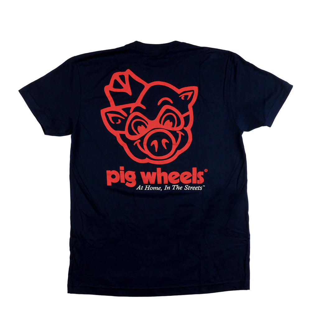 Pig Piggly Wiggly Tee Men's T-Shirt - Navy