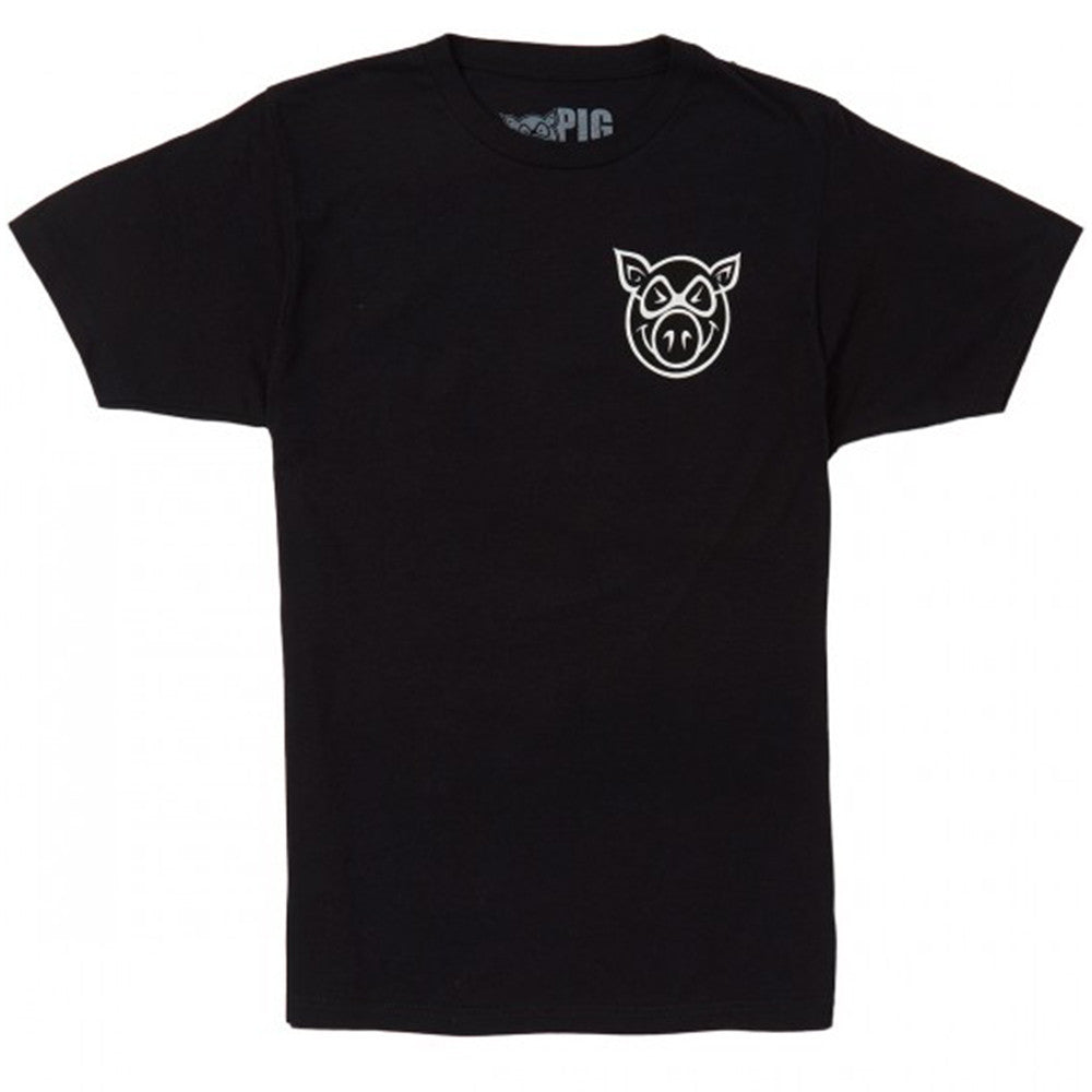 Pig F & B Head Men's T-Shirt - Black
