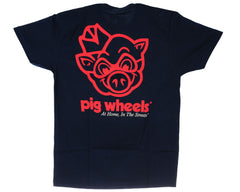 Pig Piggly Wiggly S/S Men's T-Shirt - Navy
