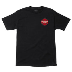 Independent Hosoi Sun Regular S/S Mens T-Shirt - Black