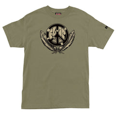 Flip Dream Peace Regular S/S Men's T-Shirt - Sage