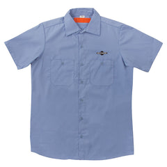 Independent Daily Grind Workshirt S/S Men's T-Shirt - Blue