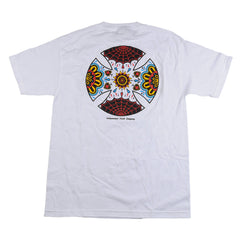Independent Blood & Sweat Regular S/S Mens T-Shirt - White