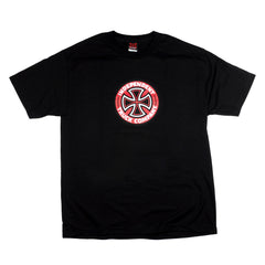 Independent Colored T/C Regular S/S Mens T-Shirt - Black