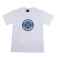 Independent Colored T/C Regular S/S Mens T-Shirt - White
