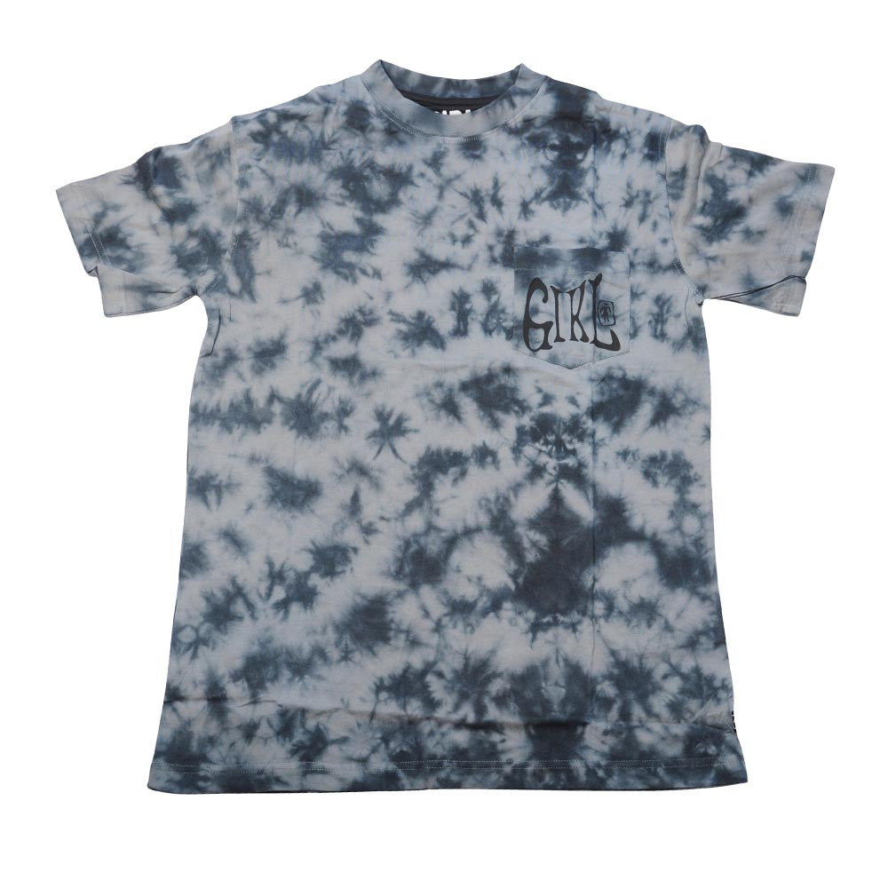Girl Grateful Men's T-Shirt - Black Tie Dye