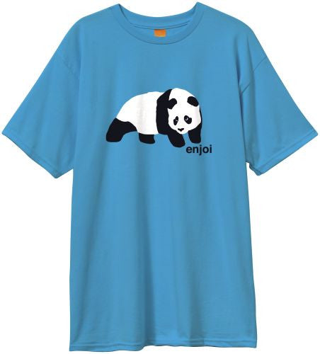 Enjoi Original Panda S/S - Men's T-Shirt - Turquoise