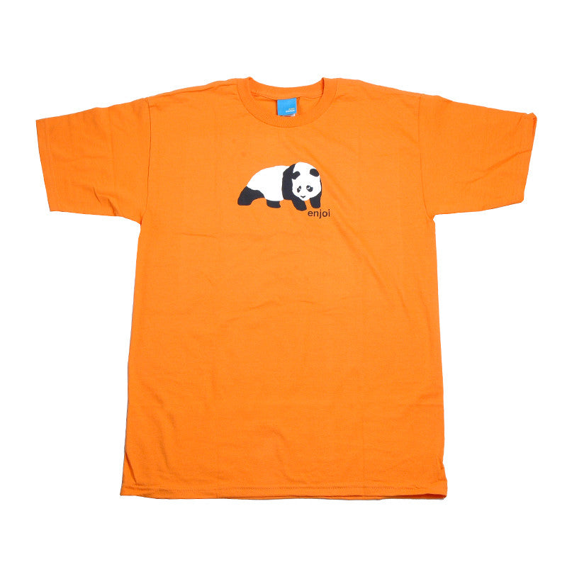 Enjoi Original Panda S/S - Men's T-Shirt - Orange
