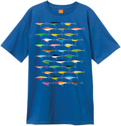 Enjoi Lures Premium S/S Men's T-Shirt - Royal Blue