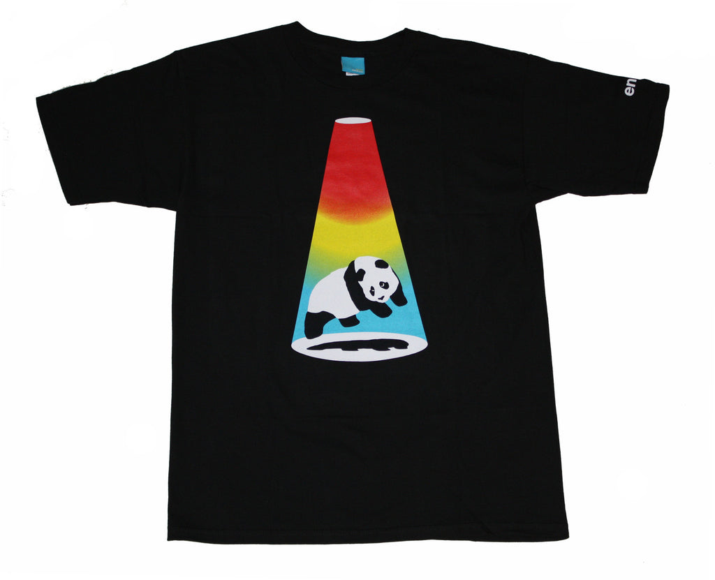 Enjoi Abduction S/S Men's T-Shirt - Black