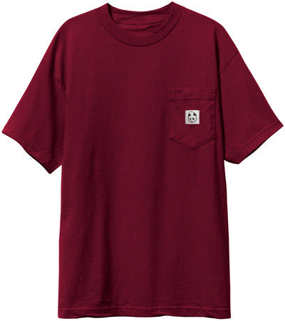 Enjoi Squarehead Custom Pocket - Oxblood - Men's T-Shirt