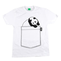 Enjoi Jumbo Pocket Premium S/S Men's T-Shirt - White