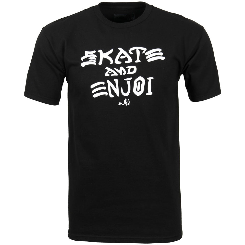 Enjoi Skate And Enjoi S/S Men's T-Shirt - Black