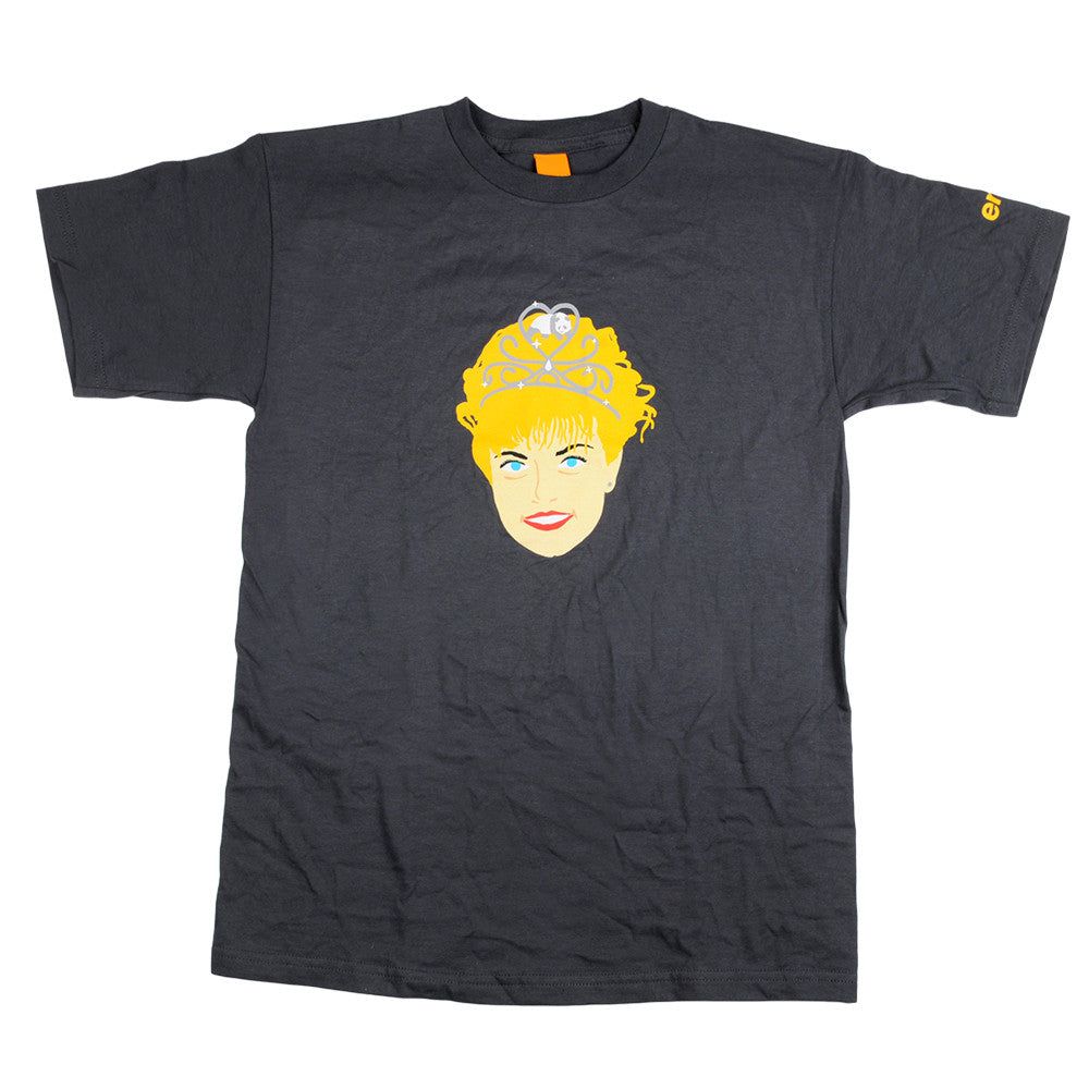Enjoi Homecoming Queen Men's T-Shirt - Charcoal