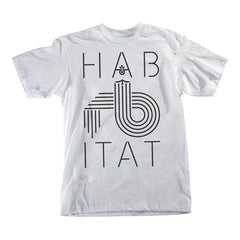Habitat Low Fi S/S Men's T-Shirt - White