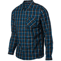 Habitat Ludlow Men's Collared Shirt - Blue