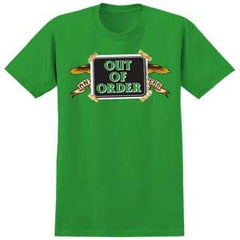 Anti-Hero Out of Order S/S - Men's T-Shirt - Kelly Green