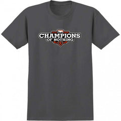 Anti-Hero Champions S/S - Men's T-Shirt - Charcoal