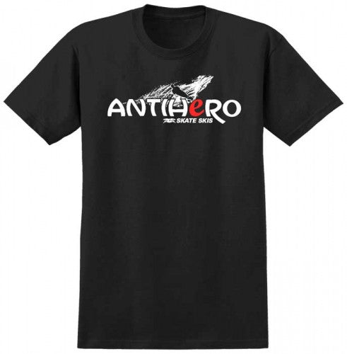Anti-Hero Skate Skis S/S - Men's T-Shirt - Black