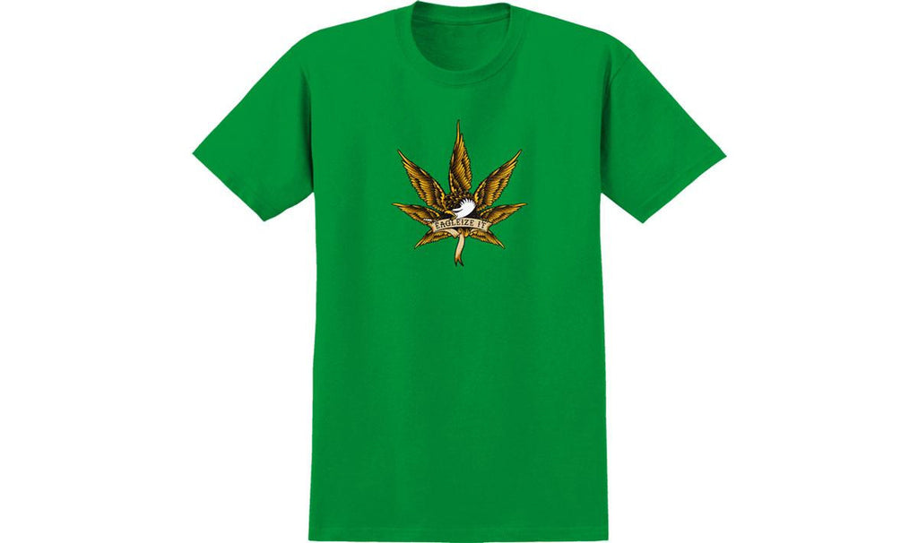 Anti-Hero Eagleize It S/S - Kelly Green - Men's T-Shirt