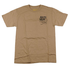 Anti-Hero Scorpion S/S - Brown/Black - Men's T-Shirt