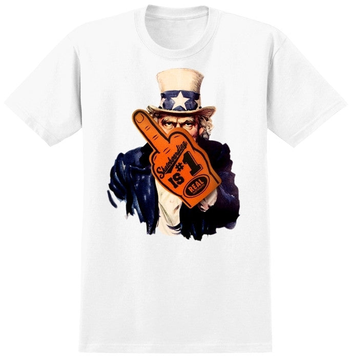 Real Enlist S/S - White - Men's T-Shirt