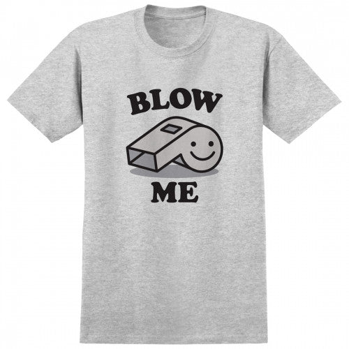 Real Blow Me S/S Men's T-Shirt - Athletic Heather