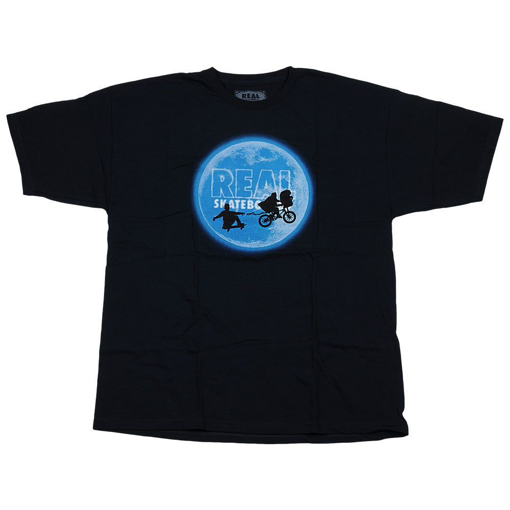 Real Skate Home S/S  - Men's T- Shirt - Navy
