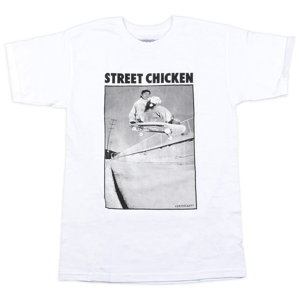Real TG Street Chicken S/S - Men's T-Shirt - White