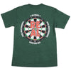 Real On Point S/S - Men's T-Shirt - Forest Green