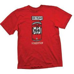 Foundation Oh Yeah! S/S - Red - Men's T-Shirt