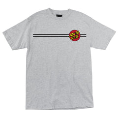 Santa Cruz Classic Dot Regular S/S - Athletic Heather - Mens T-Shirt