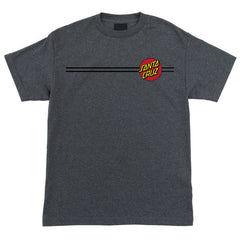 Santa Cruz Classic Dot Regular S/S Men's T-Shirt - Charcoal Heather