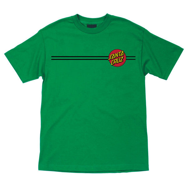 Santa Cruz Classic Dot Regular S/S Men's T-Shirt - Kelly Green