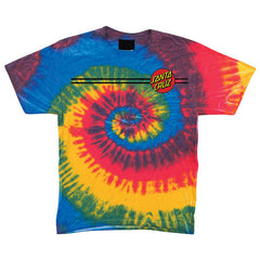 Santa Cruz Classic Dot Regular S/S Men's T-Shirt - Rasta Blue