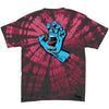 Santa Cruz Screaming Hand Regular S/S Men's Shirt - Spider Crimson