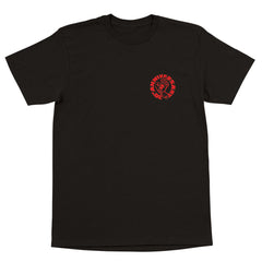 Santa Cruz Cab Hand Regular S/S T-Shirt - Black