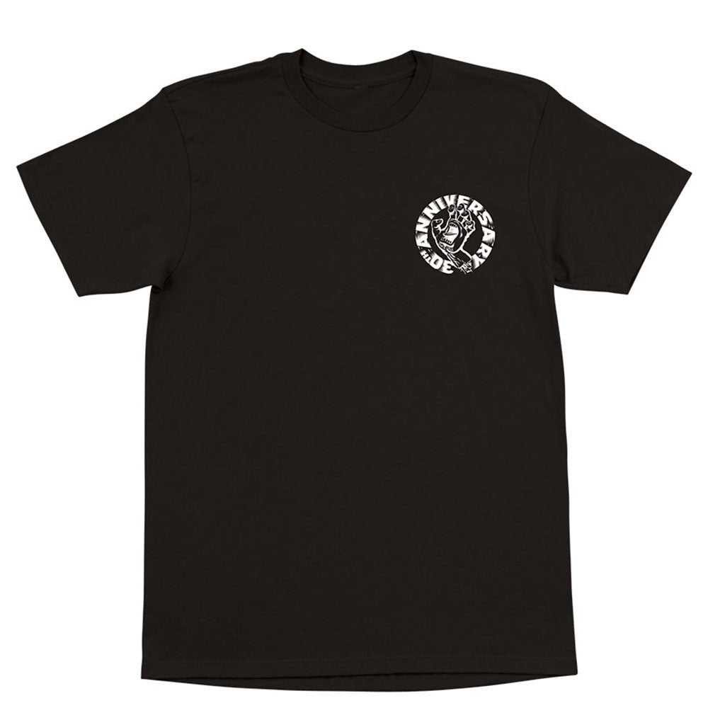 Santa Cruz Andy Jenkins Hand Regular S/S T-Shirt - Black