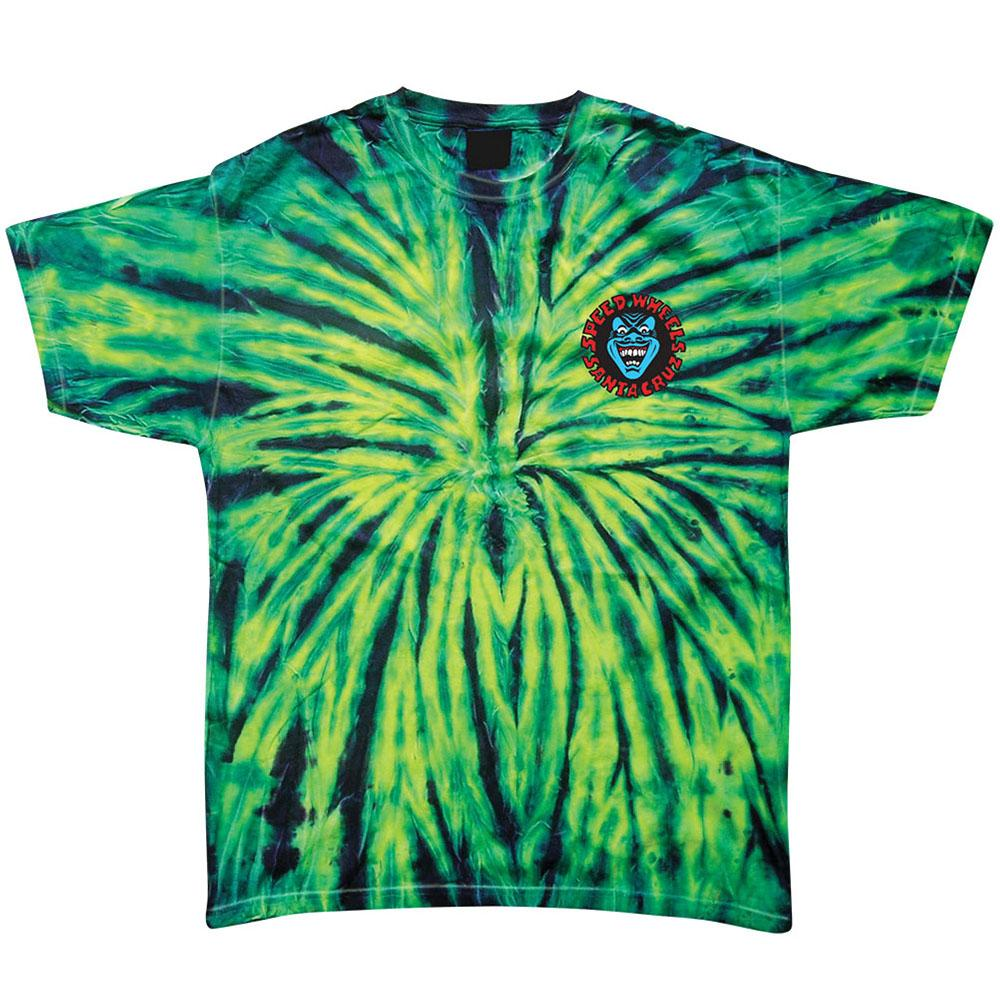 Santa Cruz Screaming Hand Regular S/S Men's T-Shirt - Wild Spider