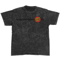 Santa Cruz Classic Dot Regular S/S Men's T-Shirt - Mineral Black