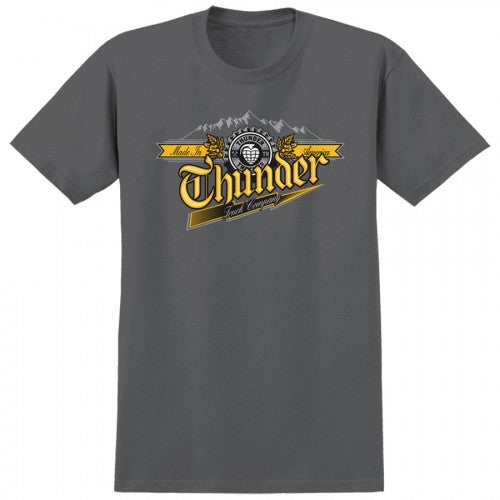 Thunder S/S Draft T-Shirt - Charcoal