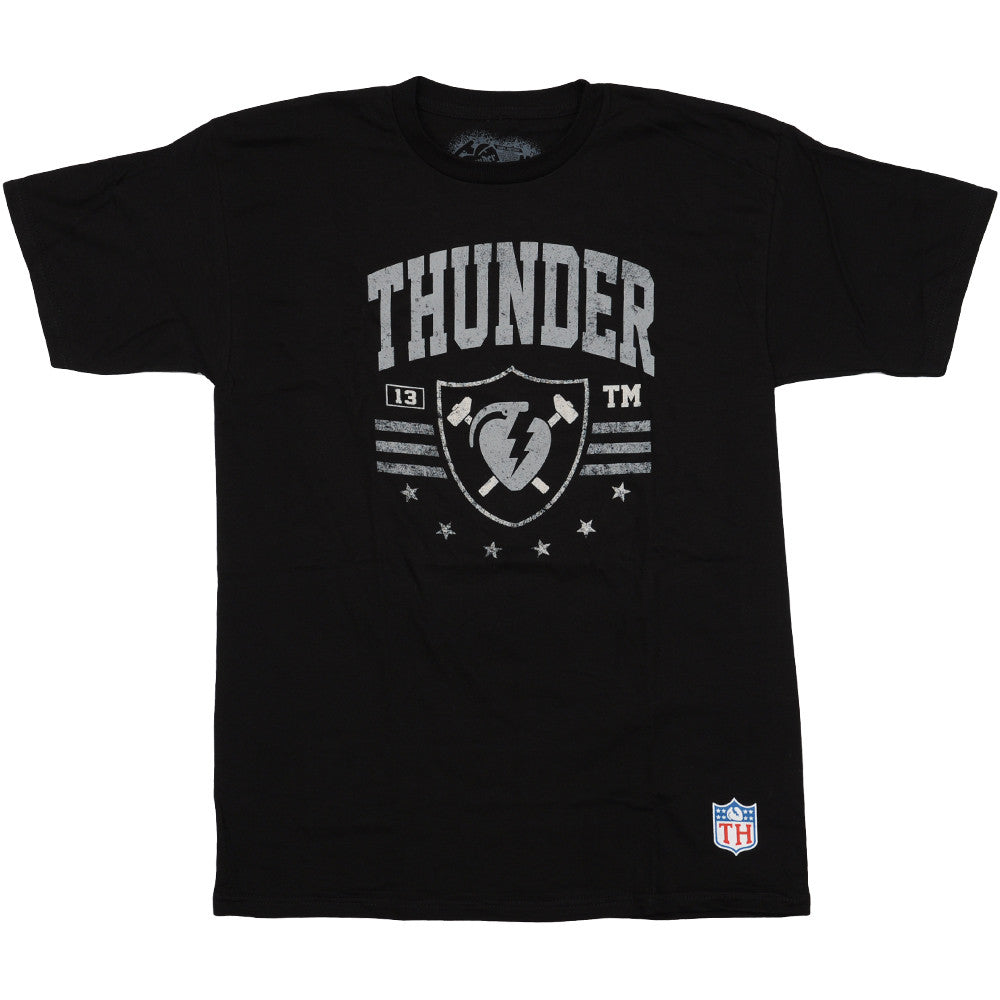 Thunder Thunder Nation S/S - Men's T-Shirt - Black