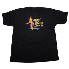 Krooked Sole Skater S/S Men's T-Shirt - Black