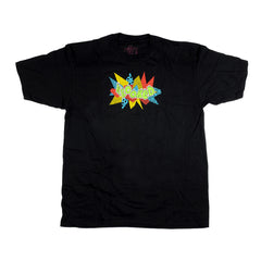 Krooked S/S - Black/Multi - Men's T-Shirt