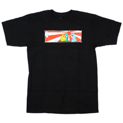 Krooked Rising Son S/S Men's T-Shirt - Black